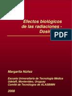 Efectos Biologicos de Las Radiaciones