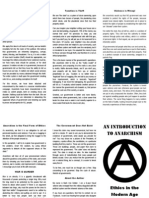 An Introduction to Anarchism:Ethics in the Modern Age