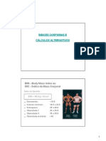 aula 5.1 índices corporais e cálculos