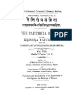 Bhatta Bhaskara Bhashya of Taittiriya Samhita Vol VIII