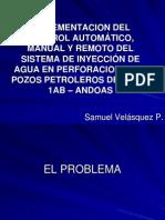 IMPLEMENTACION DEL CONTROL AUTOMÁTICO, MANUAL Y REMOTO