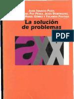 LA SOLUCIÓN DE PROBLEMAS (I POZO) (X)