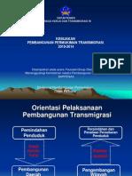 Kebijakan Pembangunan Permukiman Transmigrasi 2010-2014