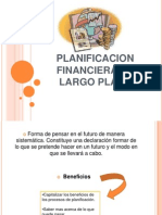 Planificacion Financiera de Largo Plazo