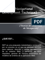 NDT (Navigational Development Technique) Exposicion