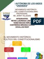 EL MOVIMIENTO HISTÓRICO-POLÍTICO DEL CONSTITUCIONALISMO