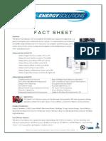 4 Page Fact Sheet III