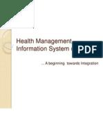 Health Management Information System