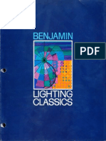 Benjamin Lighting Classics Catalog 1979
