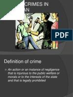 Crime in Pakistan