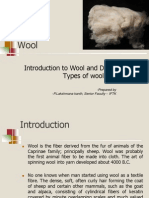 Wool - Diff Types of Wool Fabrics and Its Behavior