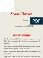 Seam Classes - Bound Seams