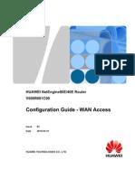 HUAWEI Configuration Guide - WAN Access(V600R001C00_03)