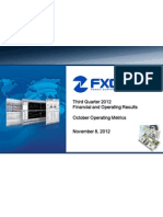 FXCM Q3 Slide Deck