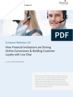 Whitepaper - How Financial Institutions Use Live Chat