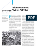 Does the Built Environment Influence Physical Activity