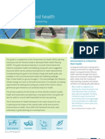 Urban Design and Health a Guide to Relevant Resources for Planning