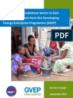 The Improved Cookstove Sector in East Africa