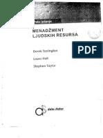 Menadzment Ljudskih Resursa - Derek Torrington, Laura Hall, Stephen Taylor