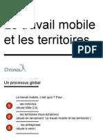 Etude Travail Mobile Entreprises Chronos 2013
