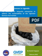 Briquette Businesses in Uganda