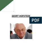 Geert Hofstede's