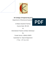 Cover Page Format