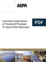 ^Innovative Applications of Treatment Processes for Spent Filter Backwash