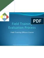 PNP.field Training Evaluation Process