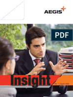 Aegis Insight Newsletter Vol. 1