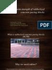 Presentation on Long-Term Strength of RCPB