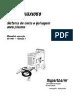 Manual Powermax 1650