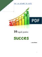 10 Reguri pentru succes