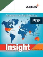 Aegis Insight Newsletter Vol. 2 - Spotlight on rightshoring