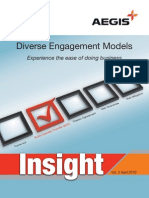 Aegis Insight Newsletter Vol. 3 - Diverse engagement models, experience the ease of doing business