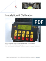 ED3-Print SkidWeigh Plus Installation & calibration