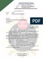 Undangan Musyawarah Nasional IMIKI 2012