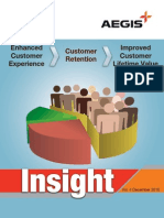 Aegis Insight Newsletter Vol. 4 - Enhanced customer experience, customer retention, improved customer lifetime value