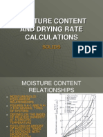 11 - Moisture Content and Drying Rate Calculations