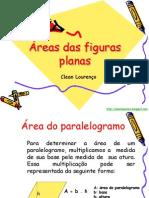 Áreas das figuras planas -  8° ano