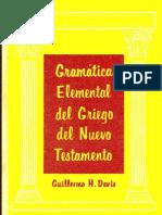 GramaticaElementalDelGriegoDelNuevoTestamento Gillermo H Davis