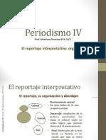 El reportaje interpretatitvo organización