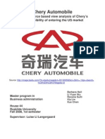 Chery Automobile for Libary