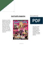 magazine covers analysed