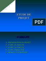Etude de Projet