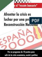 España 2000_Rescate Banca