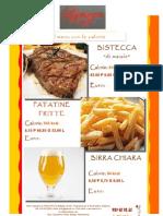 Bistecca Di Maiale Con Patate Fritte e Calorie