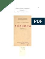 Zozobra -Ramón López Velarde
