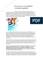 La partitobancacracia es el verdadero cáncer de la economía española