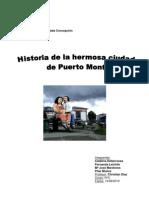 Historia de la Hermosa Ciudad de Puerto Montt